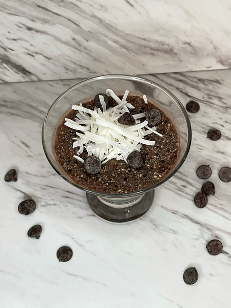 Caribbrew cold brew Chocolate Chia Seed Pudding