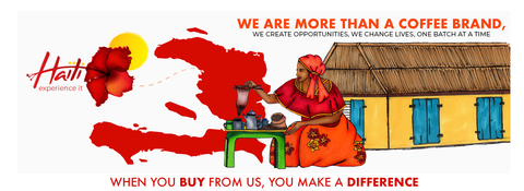 When you buy from us, you make a difference. Haitian coffee, a sacred tradition our coffee