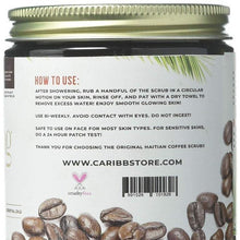 Load image into Gallery viewer, Coconut Rum - Moisturizing Haitian Coffee Scrub - Caribbrew
