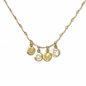 Erin Marcus Designs Necklace Love Necklace