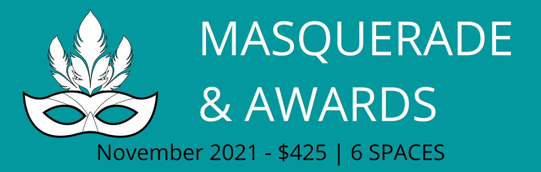 Masquerade & Awards Sponsorship 2021