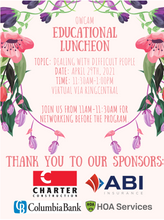 Educational Luncheon - Virtual Event