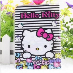 2016 Hot Sale PU&PVC Hello Kitty Cute Passport Covers 3d Passport Holder Passport Cover Case  for travel , 11 pattern for choose