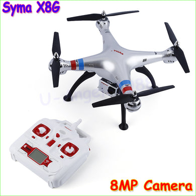 SYMA X8G RTF 2.4GHz 6 Axis RC helicopter camera drone with 8.0MP Camera 3D Remote Control Upgrade X8C X8W FPV Drone