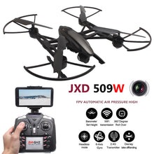 JXD 509W Quadcopter FPV Drones With Camera HD WIFI Quadrocopter Drone Headless Mode Rc