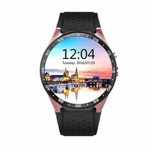 Original kingwear KW88 3G Smart watch Android 5.1 OS, Quad Core support 2.0MP Bluetooth SIM Card WiFi GPS Heart Rate Monitor