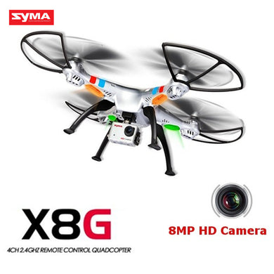 Original Syma X8G 2.4G 4CH Headless Mode RC Quadcopter Helicopter Drones With 8MP HD Camera Model 2