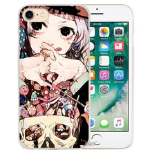 BiNFUL Anime Tokyo Ghouls Hard Transparent Phone Case Cover Coque for Apple iPhone 4 4s 5 5s SE 5C 6 6s 7 Plus