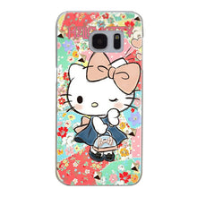 G471 Doraemon And Hello Kitty Transparent Hard PC Case Cover For Samsung Galaxy S 3 4 5 6 7 8 Mini Edge Plus Note 3 4 5 8