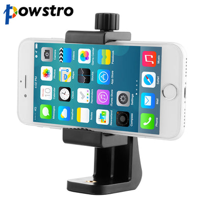 360 Degree SmartPhone Holder Tripod Stick Stand Stabilizer Clip Adapter Clamp Mount Vertical Bracket