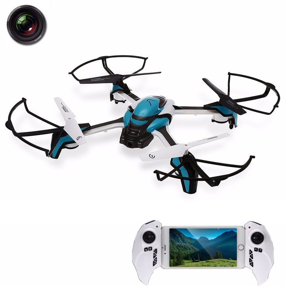 KaiDeng Pantonma  K80 RC Quadcopter 2.4Ghz 6-aixs 4CH RC Drone With 0.3MP WiFi HD Camera FPV RC Quadcopter Helicopter RTF