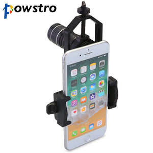 POWSTRO Universal Telescopic Lens Stand Adapter Work with Binocular Monocular Spotting Scope