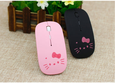 Wireless Mouse Ultra Thin Minion Union Flag Optical Hello Kitty Mouse Spider Web Gamer Mause Computer 2.4GHz 1200DPI Gaming Mice