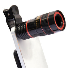 Universal Phone Camera 8X Lens Telescope HD 8X Optical Zoom Telescope Lens with Universal Clip
