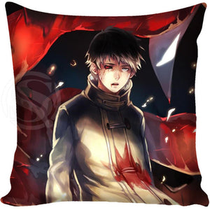 G0309 New Boutiqu Nice Tokyo Ghoul Japan anime Pillowcases zipper Custom Pillow Case free shipping