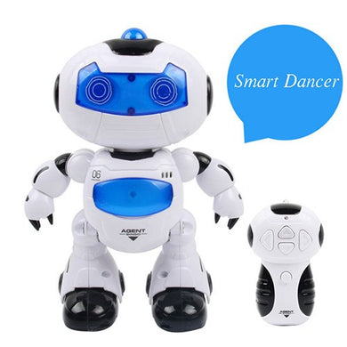 Remote Control Intelligent Robot Dance Electric Light And Music Whirlwind