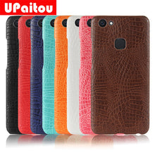 UPaitou Luxury Hard PC Leather Cases for BBK VIVO V9 Y85 V7 Plus Y79 Y75 V5 Y69 Y67 Y53 X21 X20 X9 Dual Sim Phone Back Cover