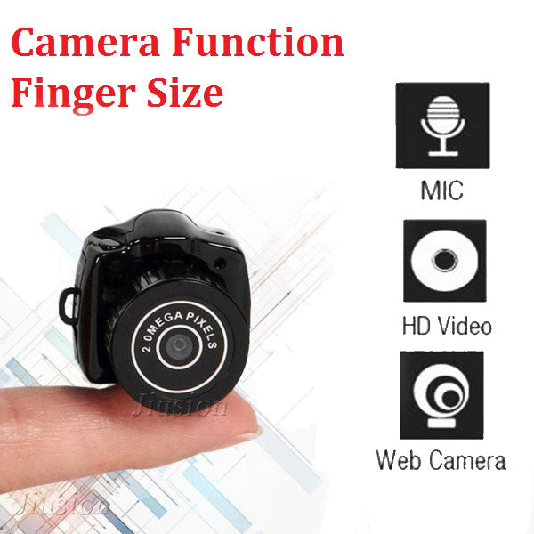 Y2000 Mini Camera Wecam DV DVR Camcorder Portable Video Voice Audio Recorder 480P Small Secret Sport Micro Cam with Mic