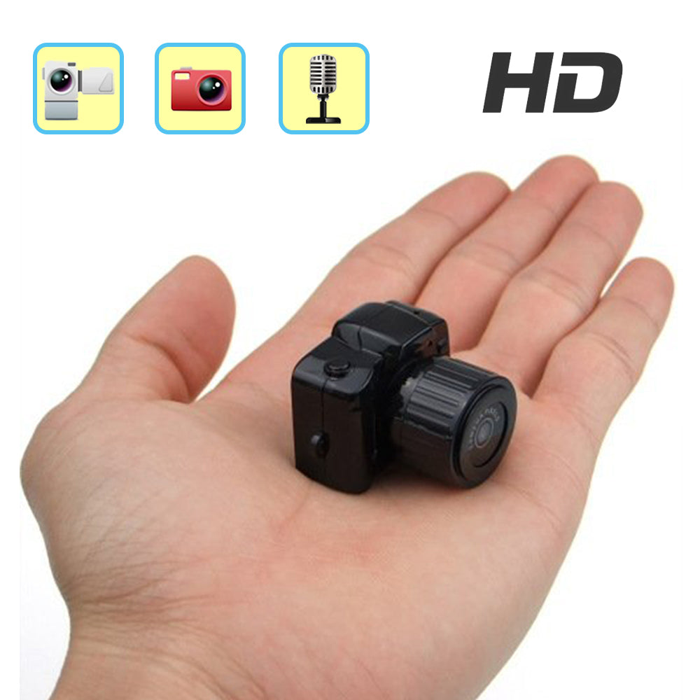 Super Mini DV Camera HD 1080P Secret Pocket Cam Thumb DVR Video Camcorder Video Audio Recording Nanny Camera