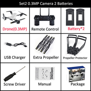 SG700 RC Qudacopter with WiFi FPV Camera Foldable Selfie Drone 6-Axis Gyro Altitude Hold Headless RC Helicopter VS E58 XS809HW