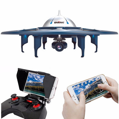 RC Helicopter UDI U845 Drone WiFi UFO 4Ch 6-Axis With 720P HD Camera FPV Quadcopter With One Key Take-off / Landing RC Drone