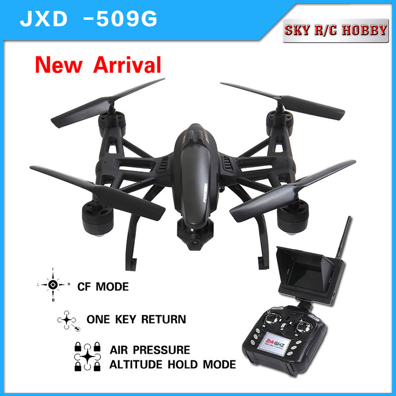 JXD 509G JXD 509W Quadcopter Drone 5.8Ghz FPV With 2MP HD Camera,, Headless Mode, 1 Key Return