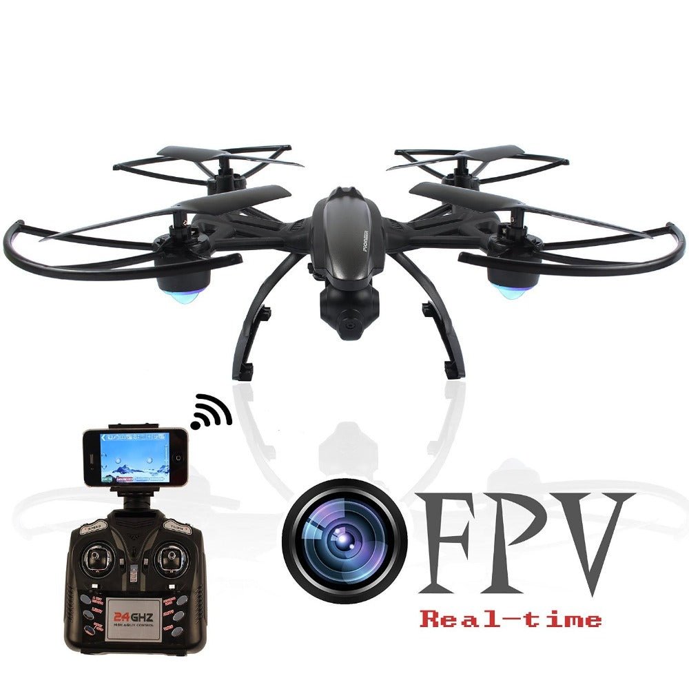 JXD 509W WiFi FPV With 720P Camera Headless Mode High Hold Mode 2.4GHZ 4CH 6-Aixs RC Quadcopter RTF