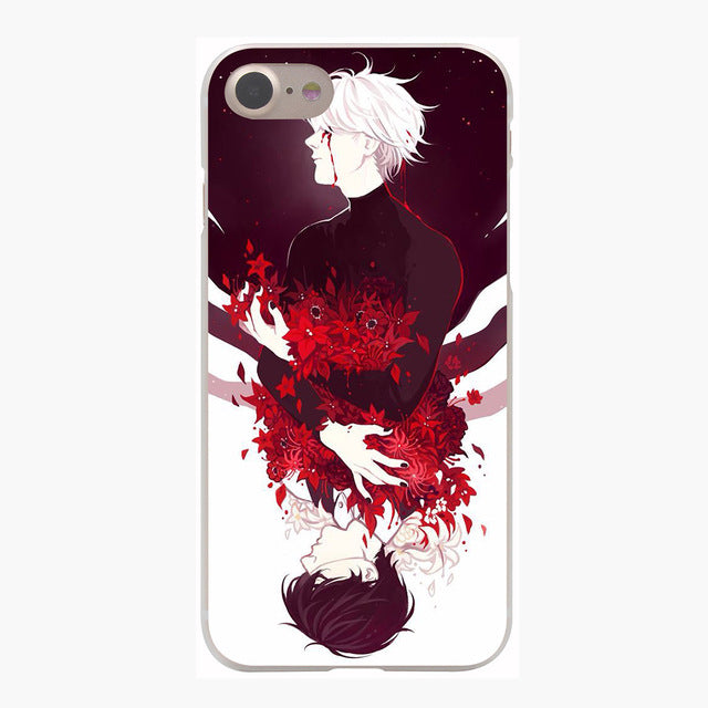 Lavaza tokyo ghoul Cover Case for iPhone X 10 8 7 Plus 6 6S Plus 5 5S SE 5C 4 4S Cases