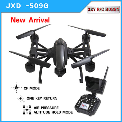 NEW JXD 509G JXD 509W Quadcopter Drone 5.8G FPV With 2.0MP HD Camera, Automatic Air Pressure High, Headless Mode, One Key Return
