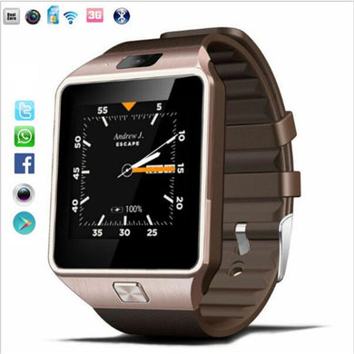 Original 3G WIFI QW09 Android Smart Watch 512MB/4GB Bluetooth 4.0 support Memory SIM Card Call Anti-lost Smartwatch PK DZ09 GT08