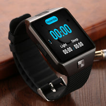 QW09 Smart watch DZ09 Android Upgrade Bluetooth Mobile phone Smartwatch 3G WIFI Card stainless steel case Alarm touch