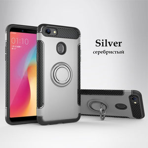 Case For OPPO F5 Shell For ViVO V9 Y85 Case marvel silicon Hard soft Ring armor Back Cover For OPPO F5 YOUTH Case For OPPO A73