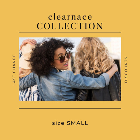 SIZE SMALL CLEARANCE ITEMS