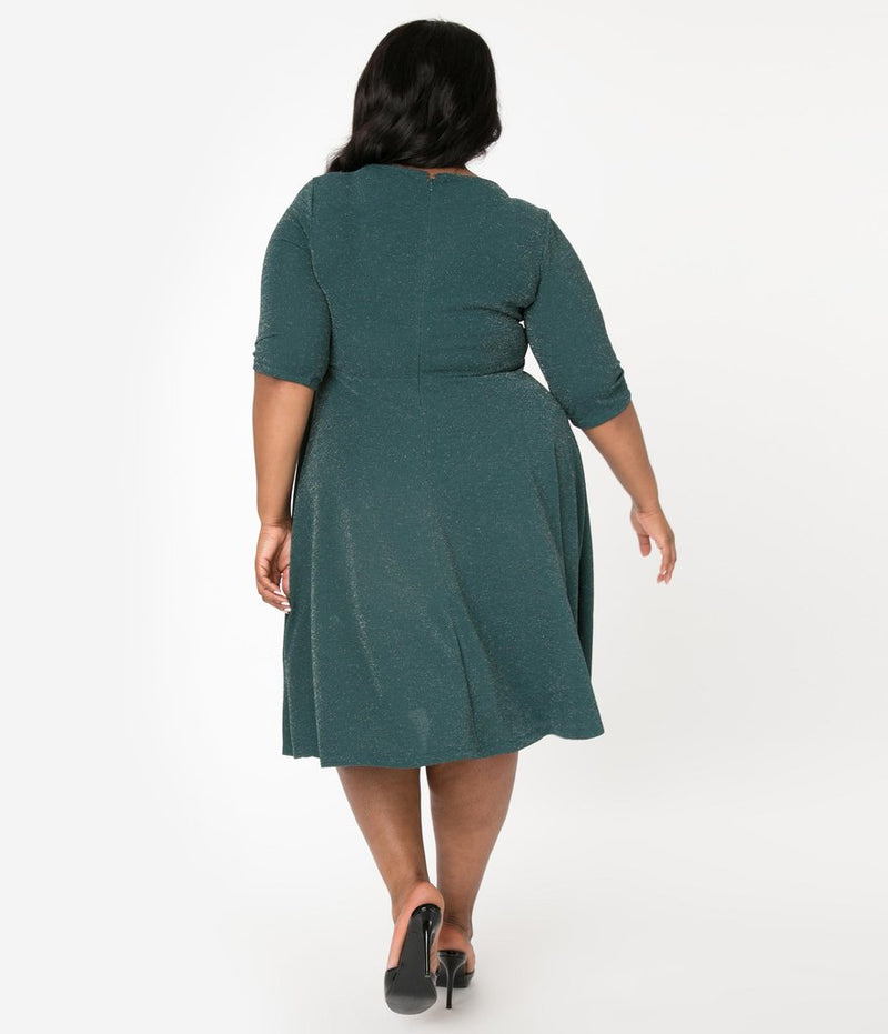 The Nicole Dress - Green