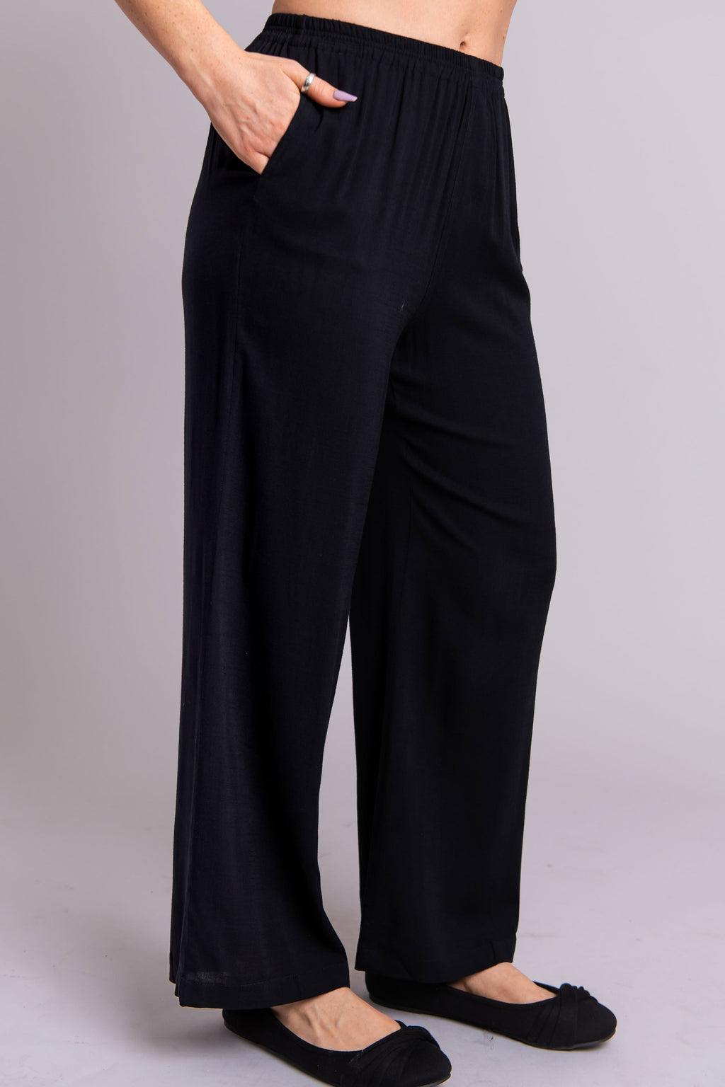 The Bella Pant in Black