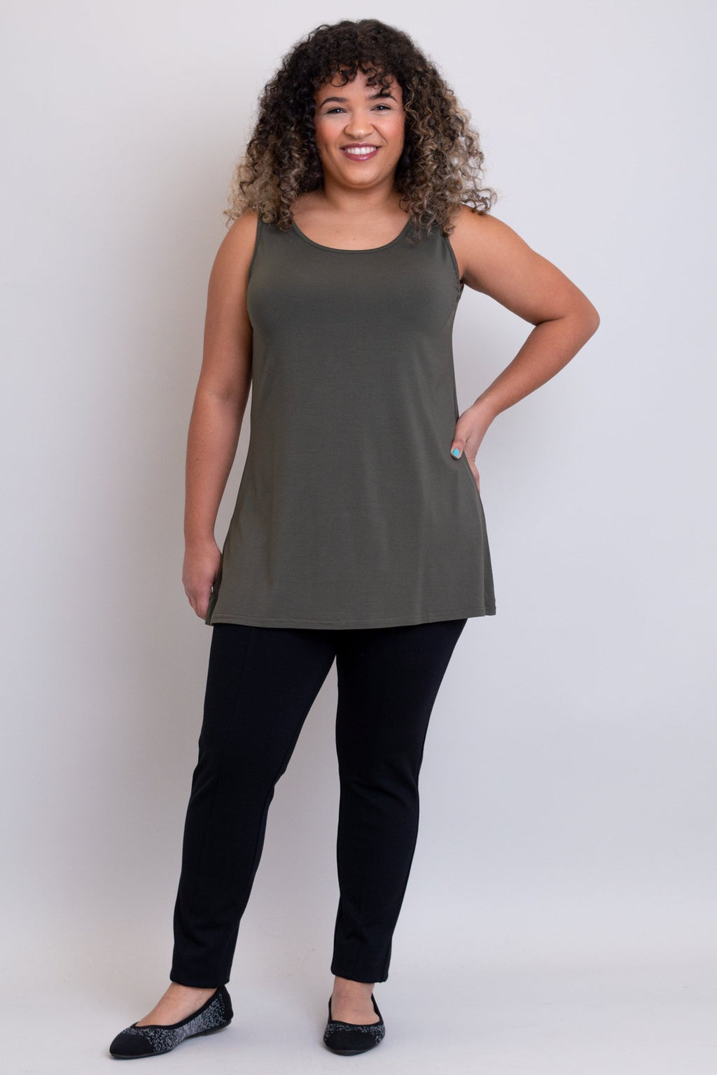 The Brandy Tank - Khaki
