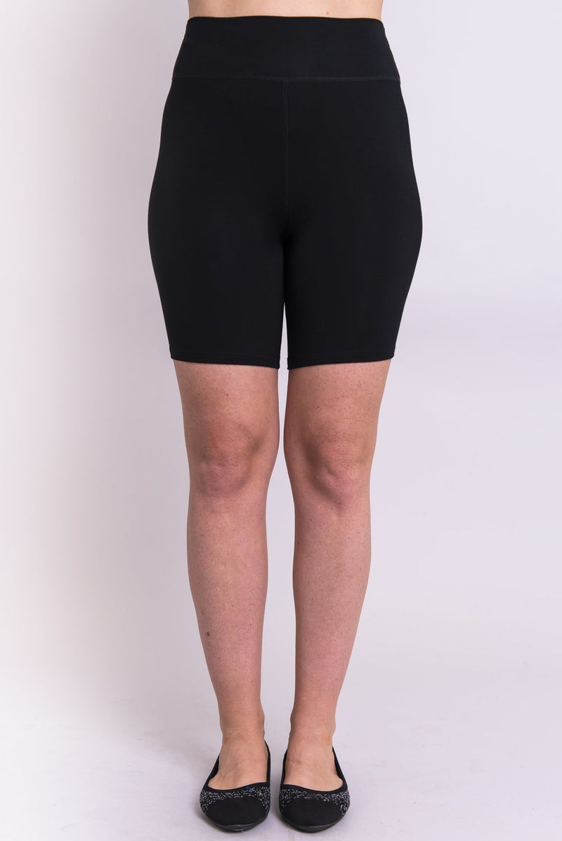 Hallie Bike Short in Black