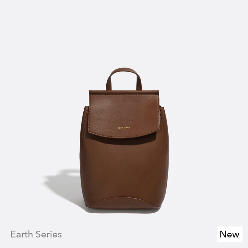 The Kim Backpack -Dark Oak