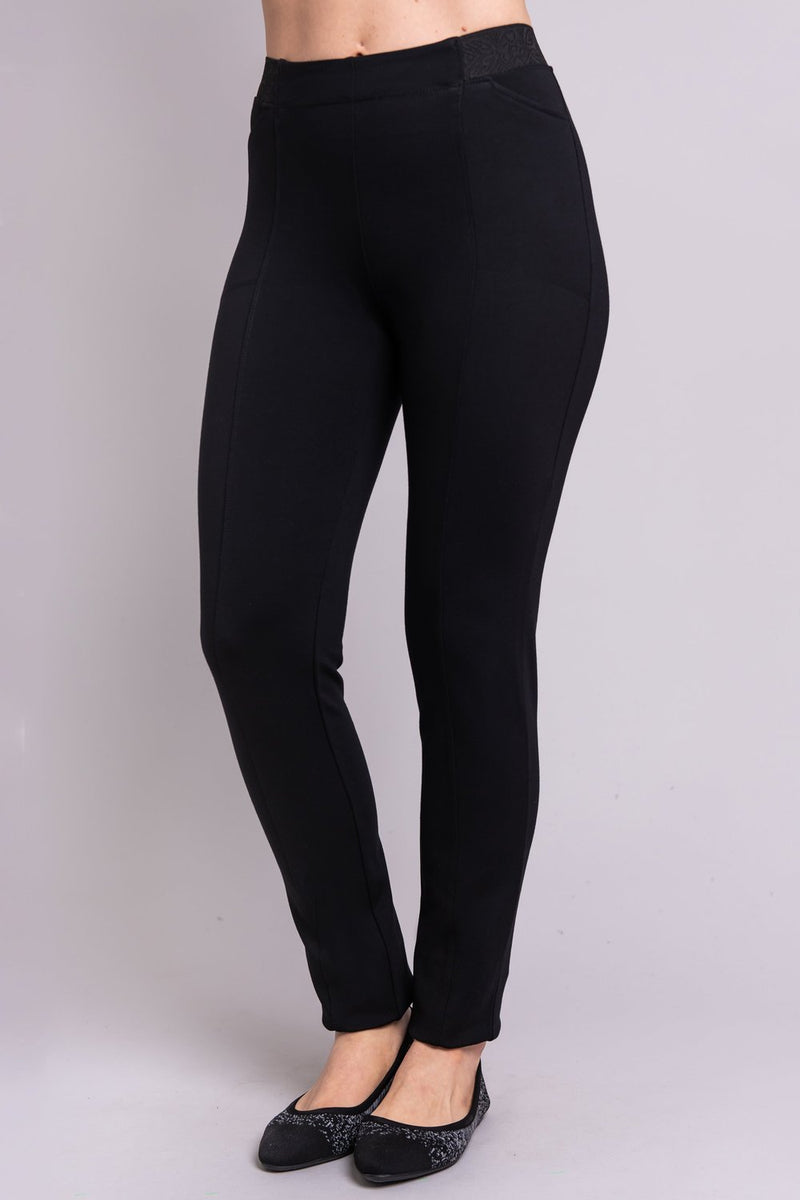 Nadine Pant in Black