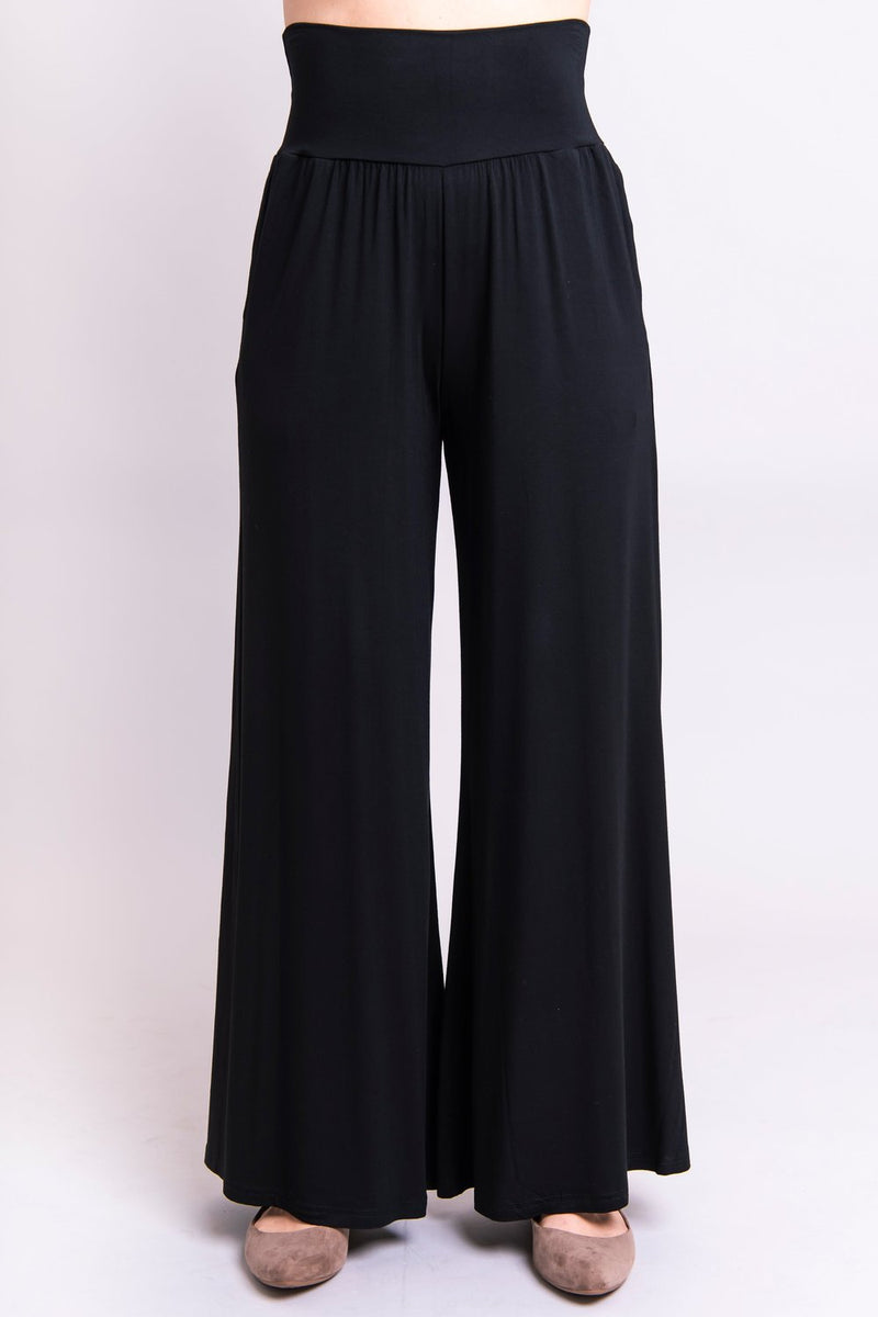 Palazzo Pant in Black