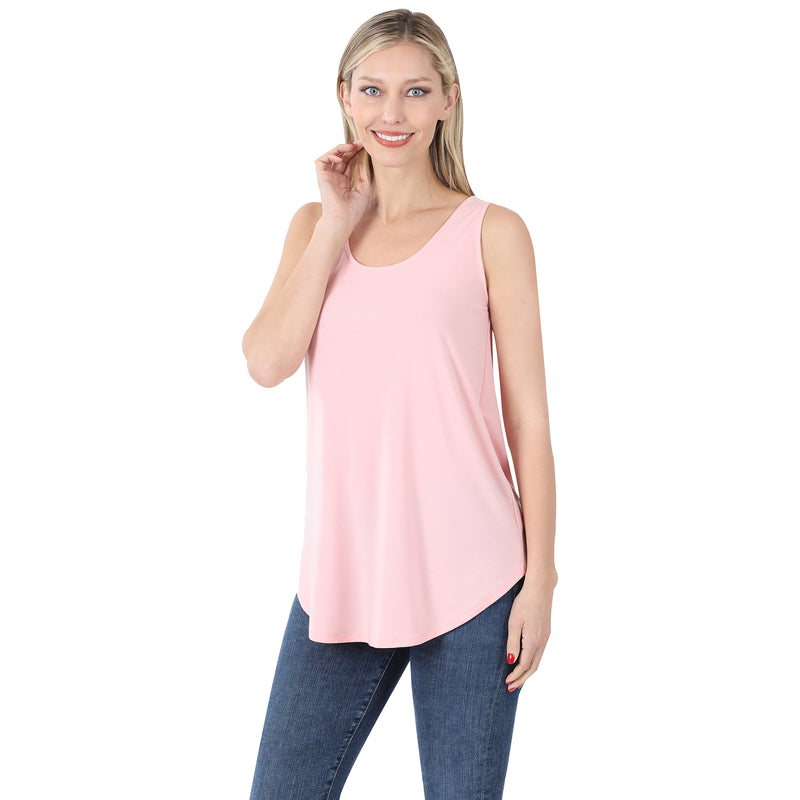The Jessie Tank Top in Dusty Pink