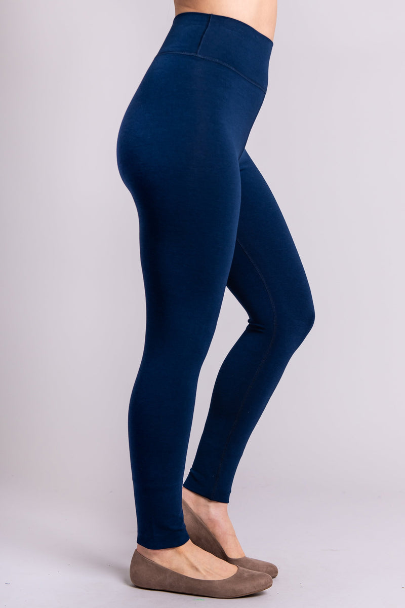 The Riley Leggings - Blue