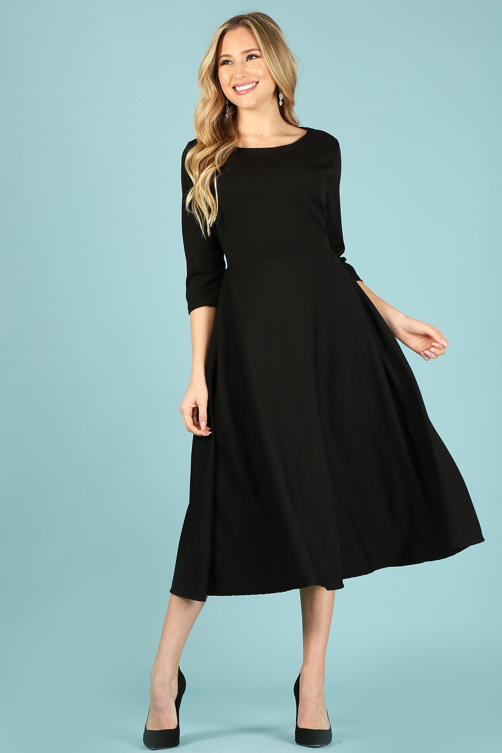 The Adira Dress - Black