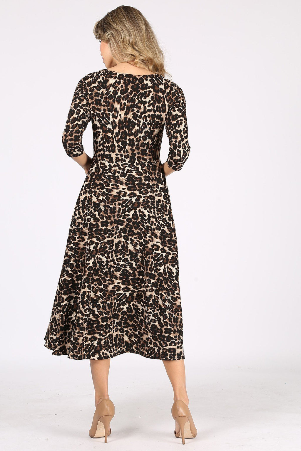 The Adira Dress - Cheetah