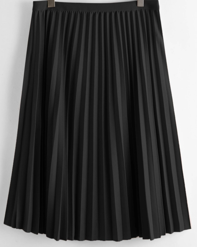 The Jazzy Pleated Skirt