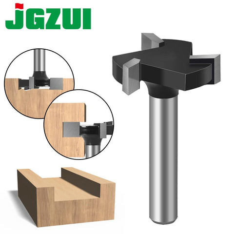 CNC Spoilboard Surfacing Router Bits, 1/4 inch 6mm Shank 1 inch Cutting Diameter, Slab Flattening Router Bit Planing Bit Wood