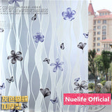 60x200cm Variety of frosted glass film balcony bathroom kitchen living room bedroom sliding door sunscreen opaque window film