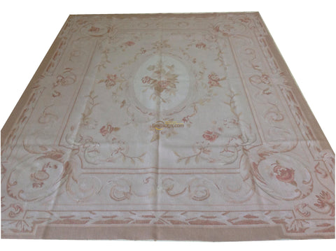 Handmade Sofa Blanket Aubusson French Style Carpet Aubusson Needle Oriental Carpet Hand-knotted Wool