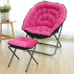 Lazy Couch Chair Modern Minimalist Lazy Chair Single Balcony Small Sofa Leisure Bedroom Chair Folding Chair