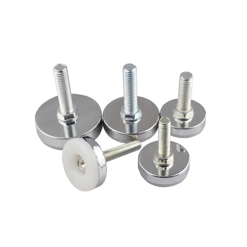 8pcs Bolt Chair Feet Floor Protector Sofa Cabinet Table Adjustable leveling Leg Glide Base Screw-in Furniture Accessory M10 M8